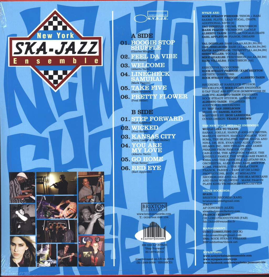 New York Ska Jazz Ensemble: Step Foward, LP (Vinyl)