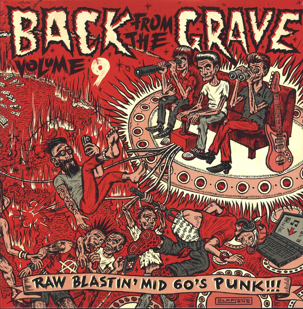 Various: Back From The Grave Volume 9, LP (Vinyl)