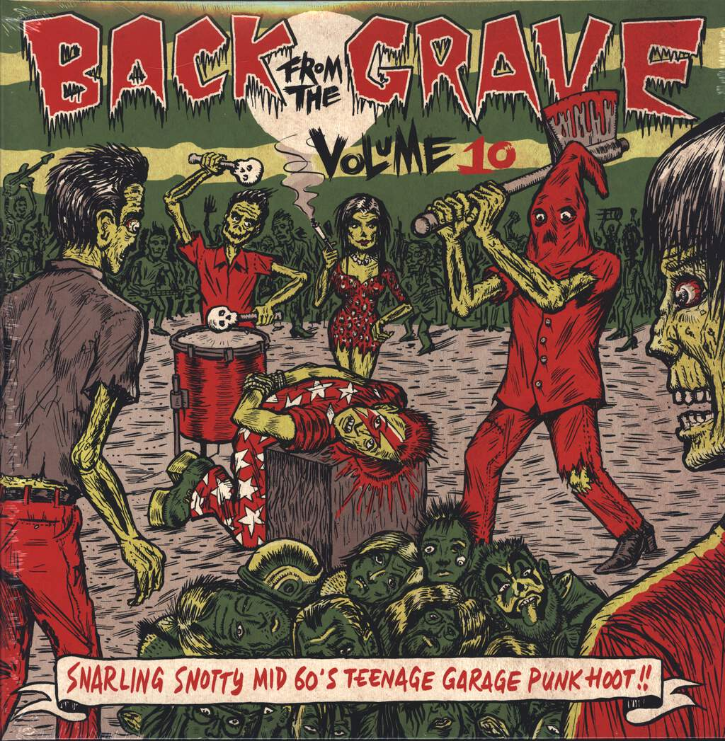 Various: Back From The Grave Volume 10, LP (Vinyl)