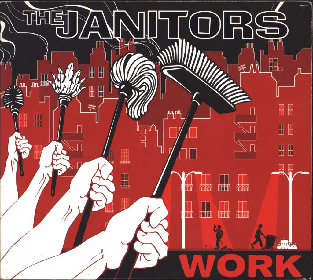 The Janitors: Work, CD