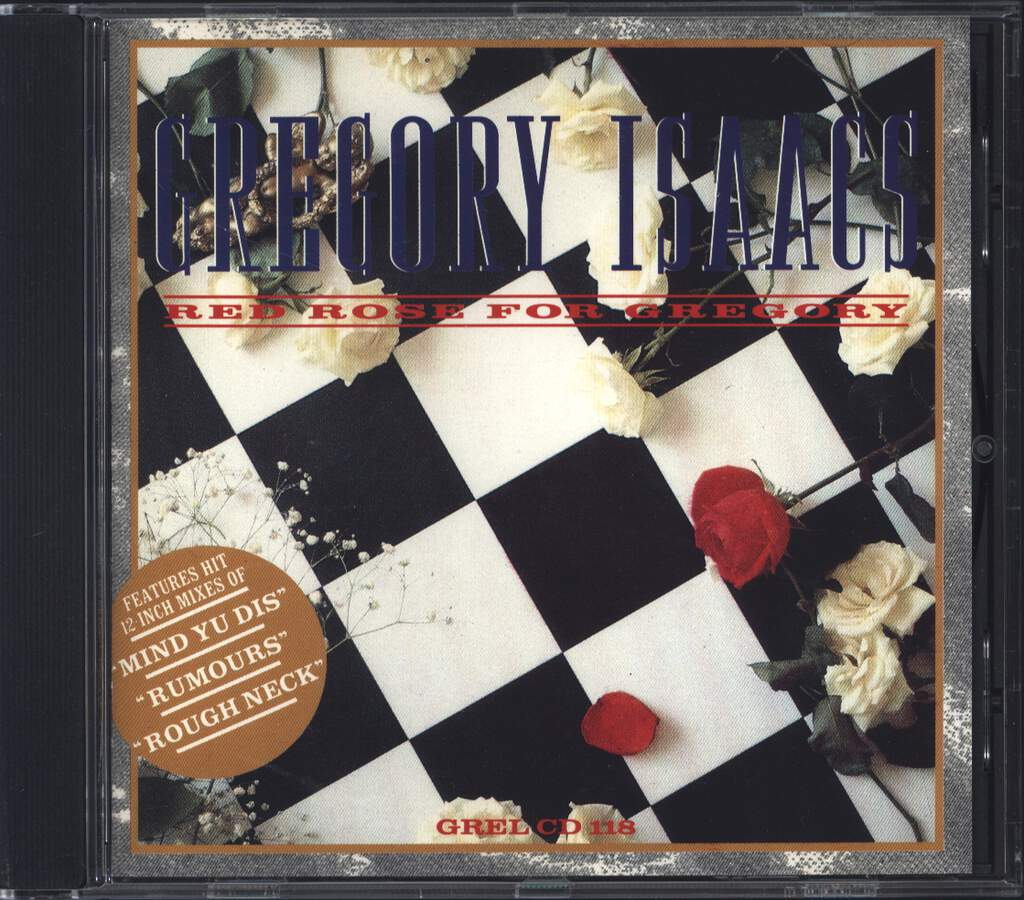 Gregory Isaacs: Red Rose For Gregory, CD