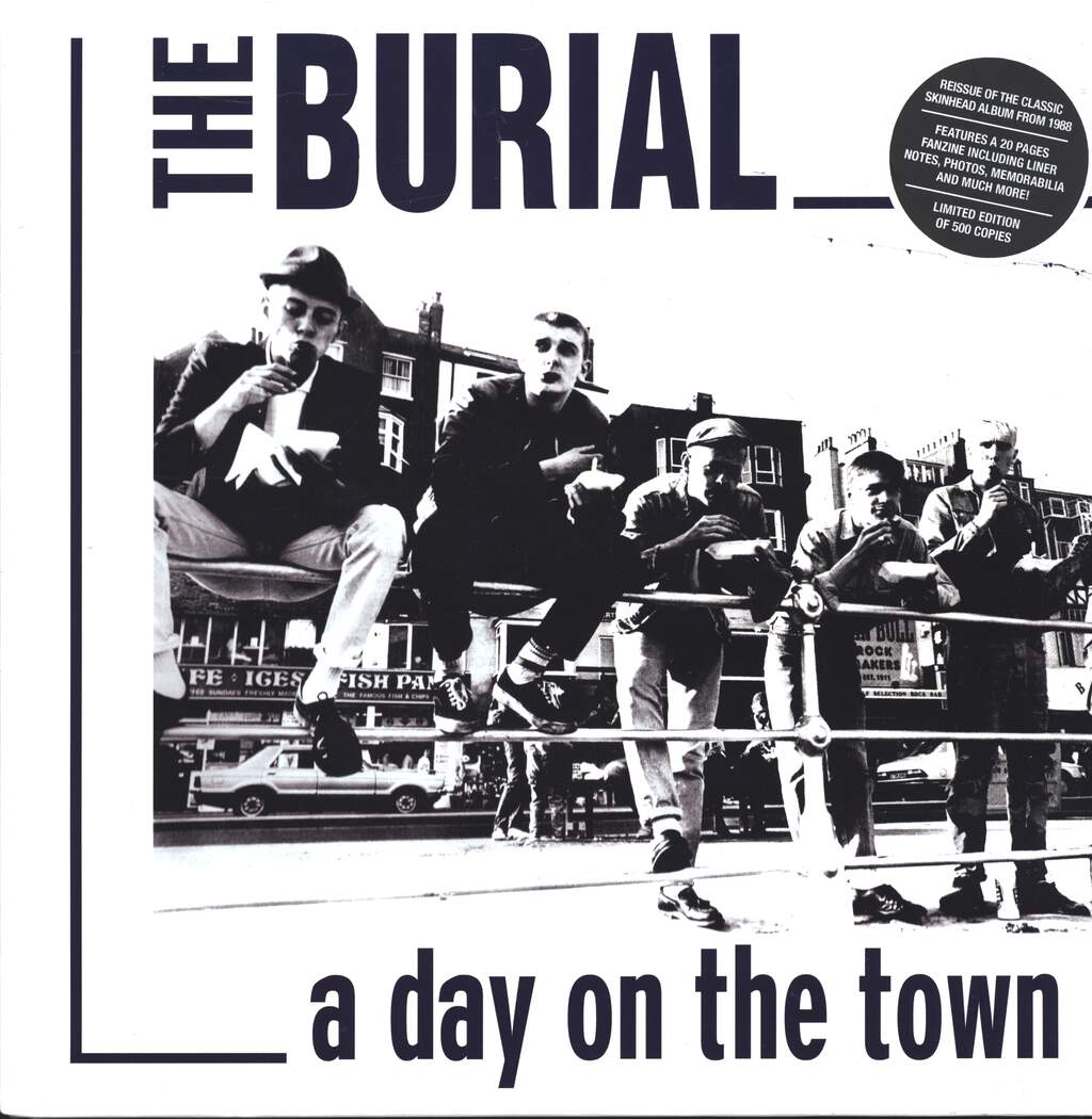 "The Burial: A Day On The Town, 12"" Maxi Single (Vinyl)"