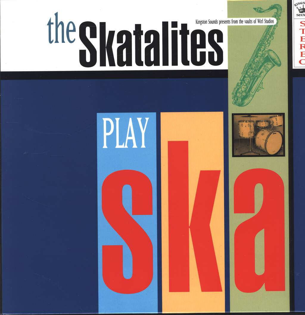 The Skatalites: The Skatalites Play Ska, LP (Vinyl)