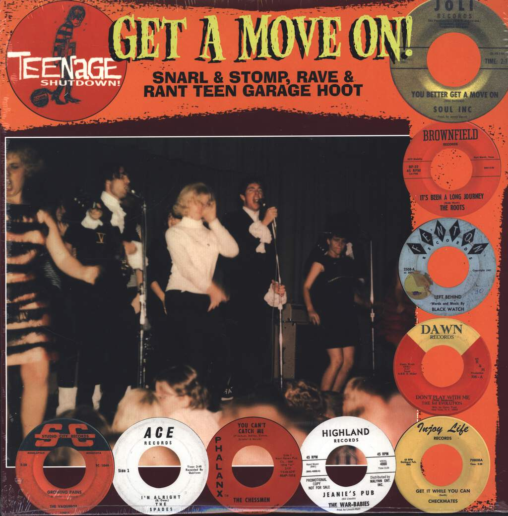 Various: Get A Move On! (Snarl & Stomp, Rave & Rant Teen Garage Hoot), LP (Vinyl)