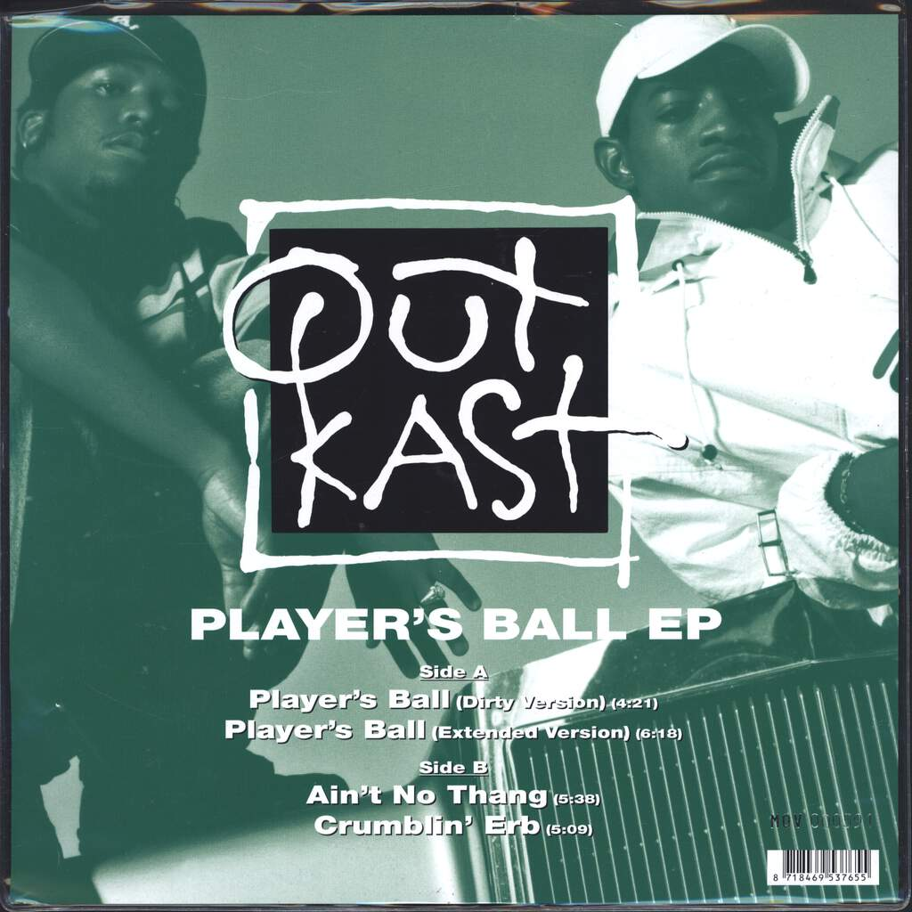 "Outkast: Player's Ball EP, 10"" Vinyl EP"