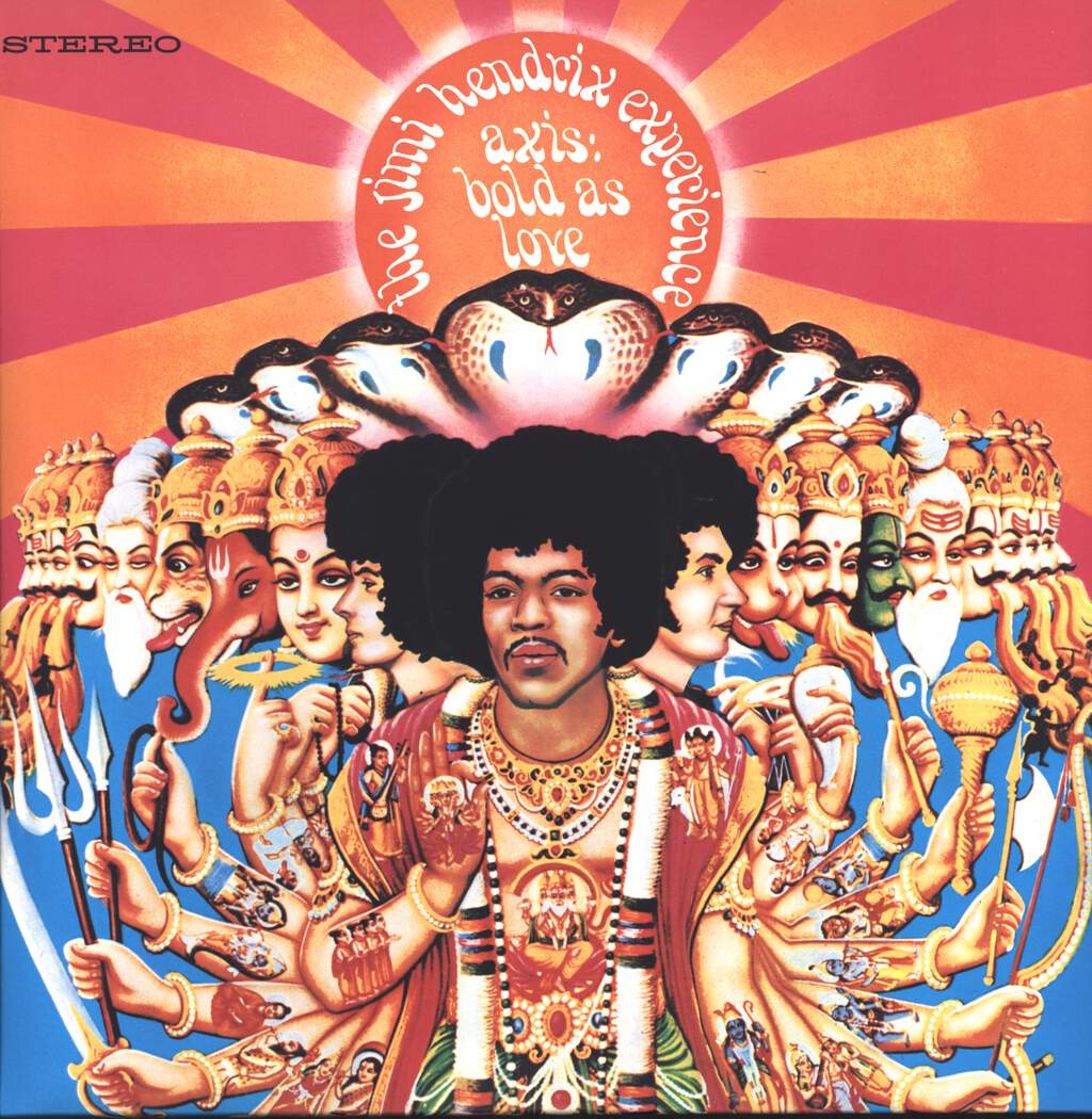 The Jimi Hendrix Experience: Axis: Bold As Love, LP (Vinyl)