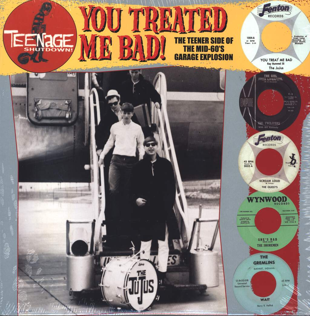 Various: You Treated Me Bad! (The Teener Side Of The Mid 60's Garage Explosion), LP (Vinyl)