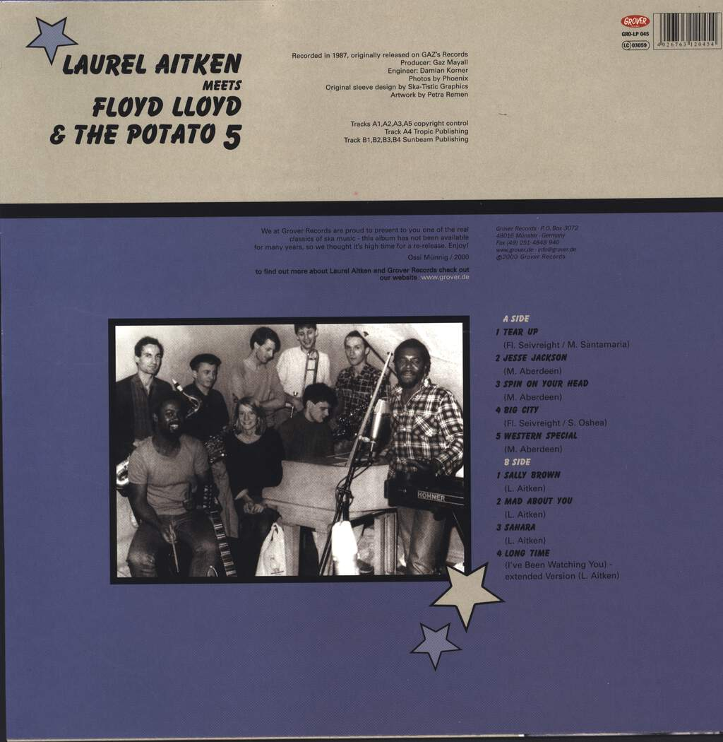 Laurel Aitken: Laurel Aitken Meets Floyd Lloyd & The Potato 5, LP (Vinyl)