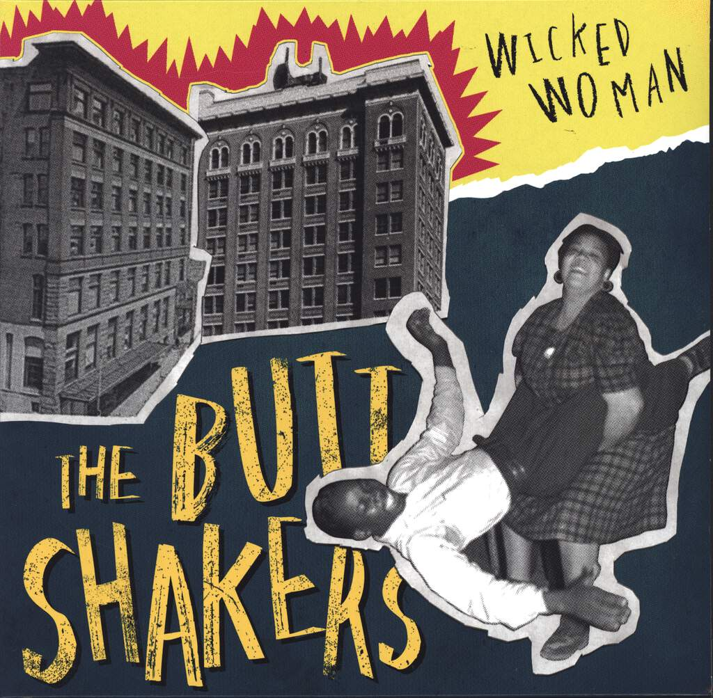 The Buttshakers: Wicked Woman, Mini LP (Vinyl)