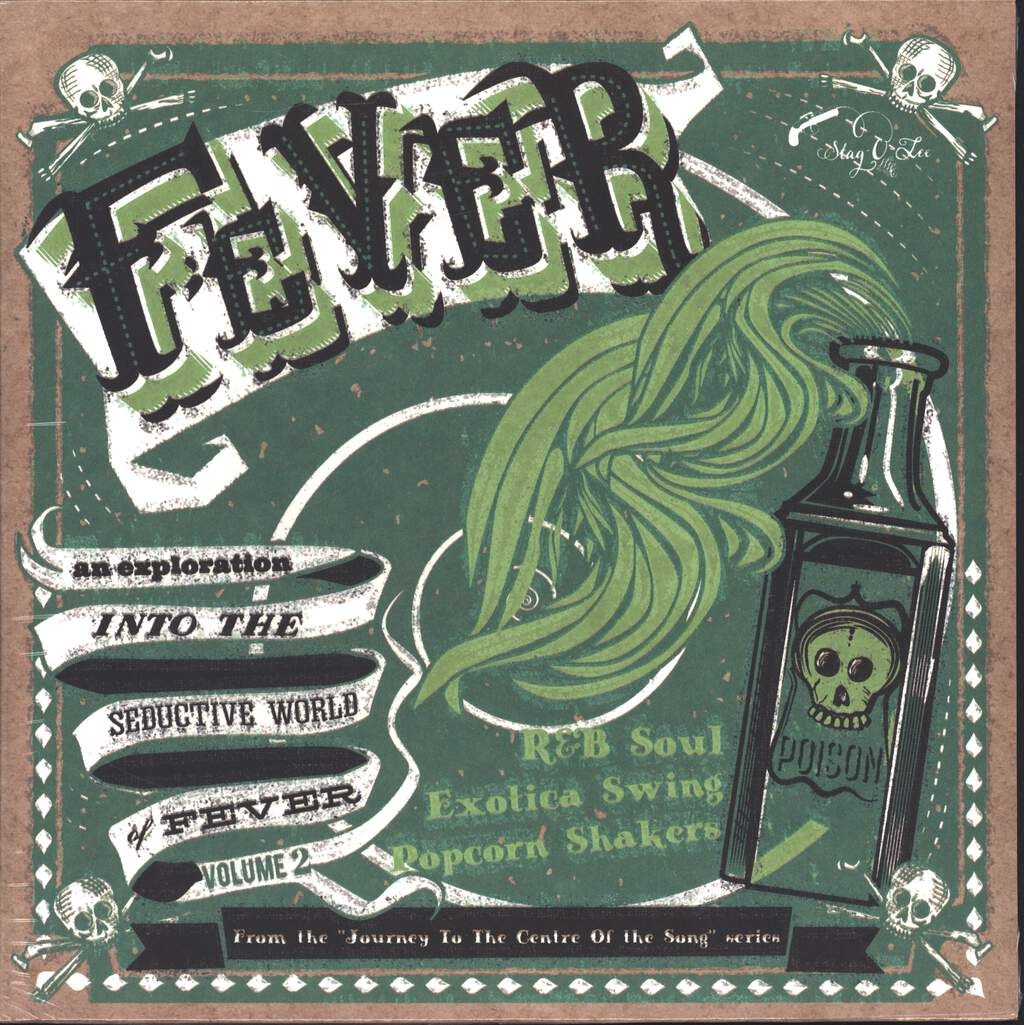 "Various: Fever - An Exploration Into The Seductive World Of Fever Volume 2, 10"" Vinyl EP"