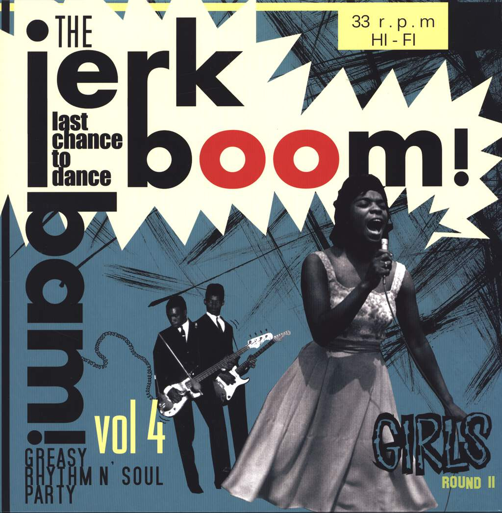 Various: The Jerk Boom! Bam! Vol. 4 Girls Round 2, LP (Vinyl)