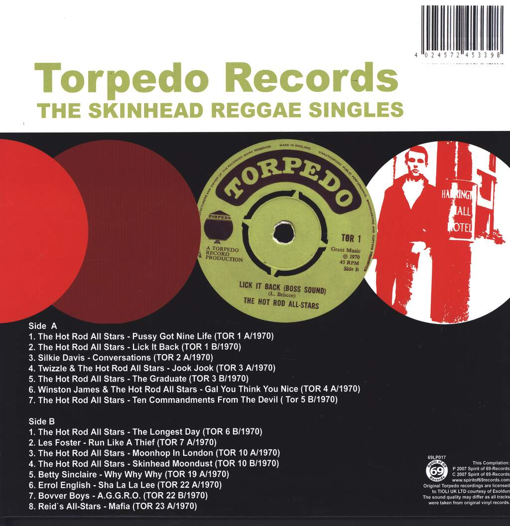 Various: The Skinhead Reggae Singles, LP (Vinyl)