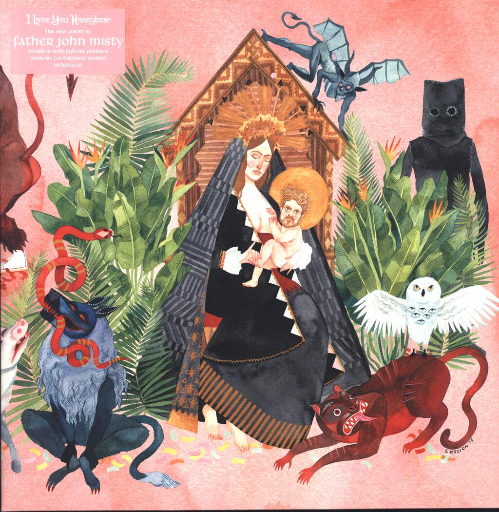 "Father John Misty: I Love You, Honeybear, 12"" Maxi Single (Vinyl)"