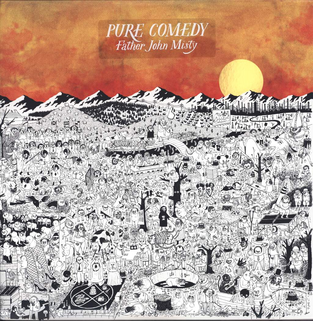 Father John Misty: Pure Comedy, LP (Vinyl)
