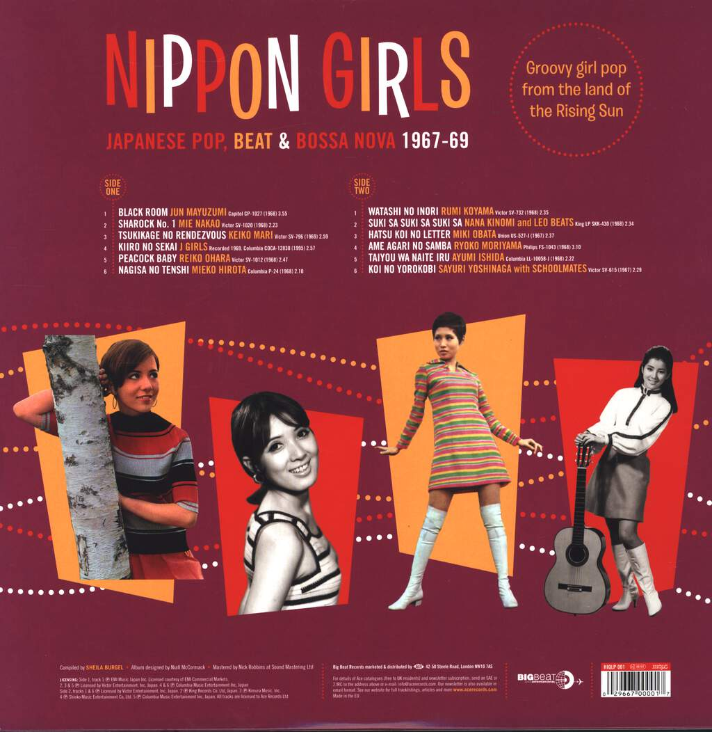 Various: Nippon Girls (Japanese Pop, Beat & Bossa Nova 1967-69), LP (Vinyl)