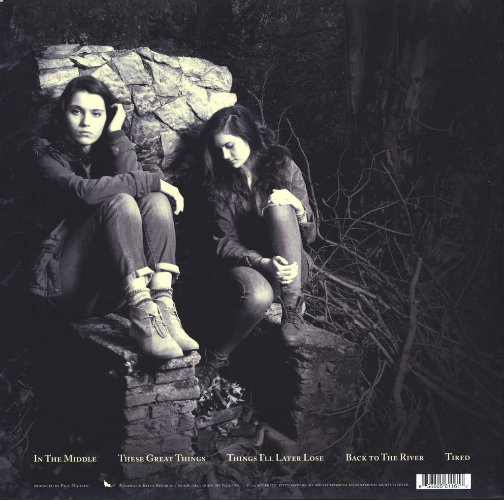 "Lily & Madeleine: The Weight Of The Globe, 10"" Vinyl EP"