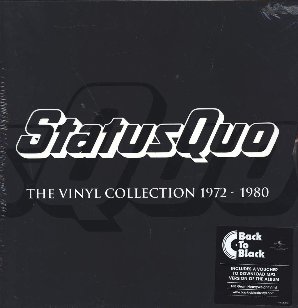 Status Quo: The Vinyl Collection 1972-1980, LP (Vinyl)