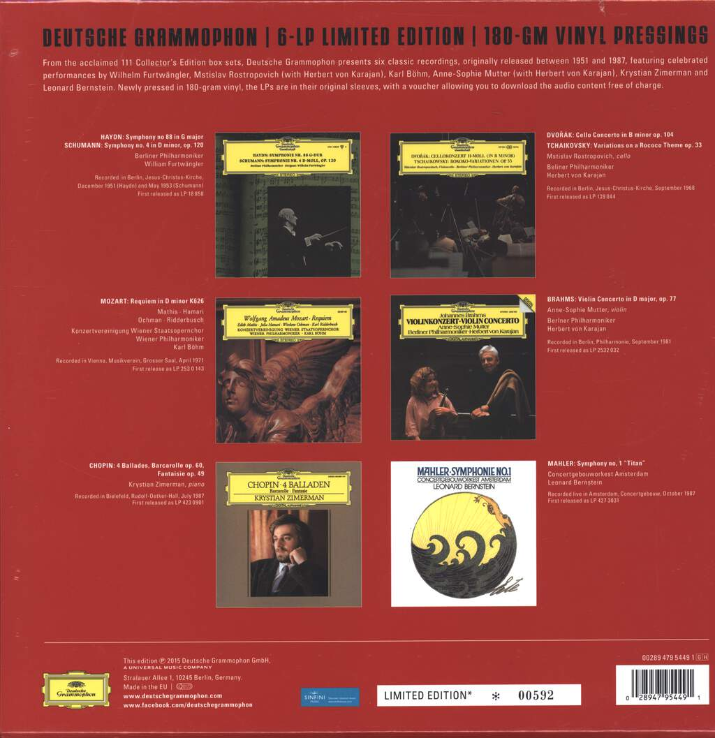 Various: 111 - 6 Classic Recordings, LP (Vinyl)