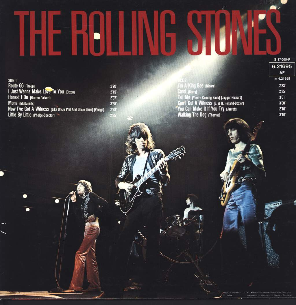 The Rolling Stones: The Rolling Stones, LP (Vinyl)