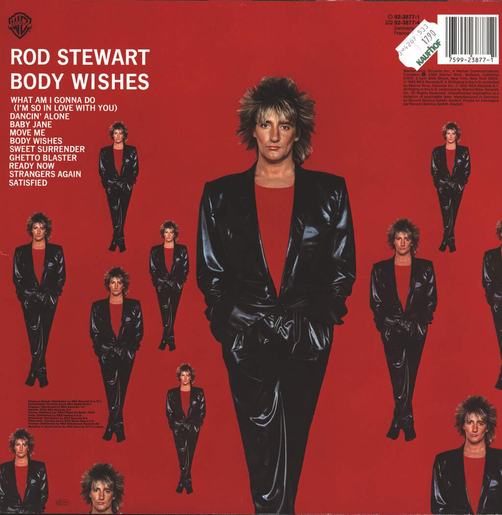 Rod Stewart: Body Wishes, LP (Vinyl)
