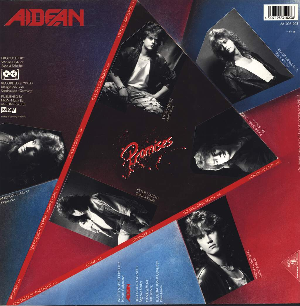 Aidean: Promises, LP (Vinyl)