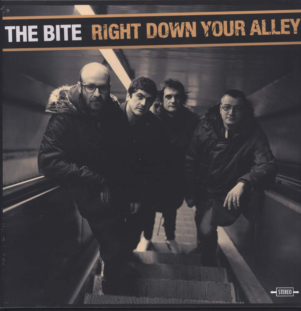 The Bite: Right Down Your Alley, LP (Vinyl)