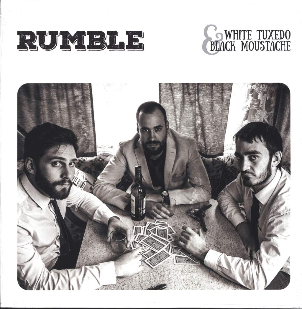 Rumble: white tuxedo & black moustache, LP (Vinyl)