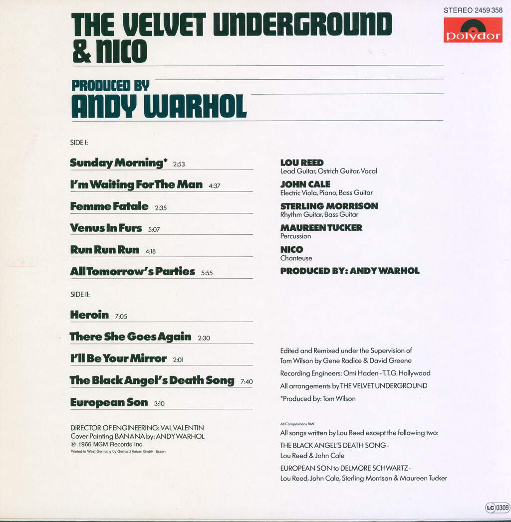 The Velvet Underground Nico 3 The Velvet Underground