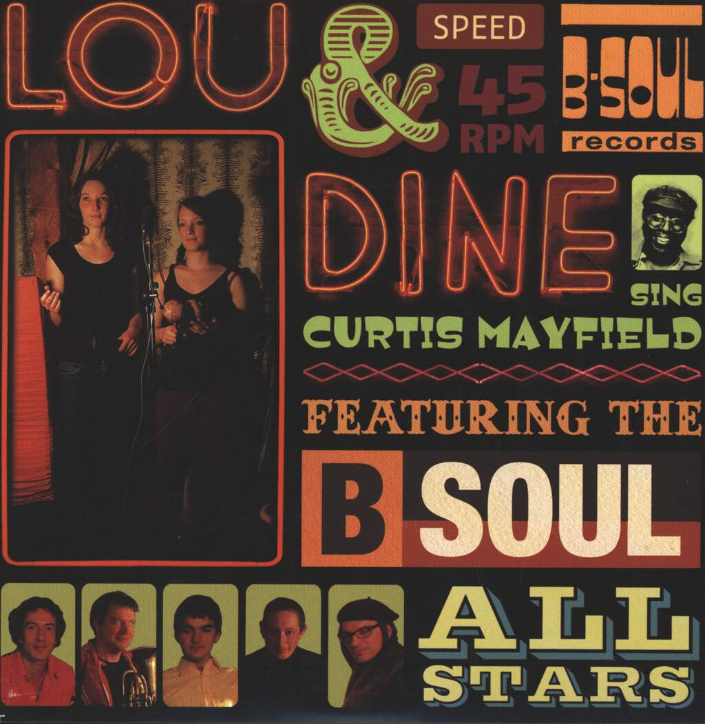 "Lou & Dine: Sing Curtis Mayfield, 7"" Single (Vinyl)"