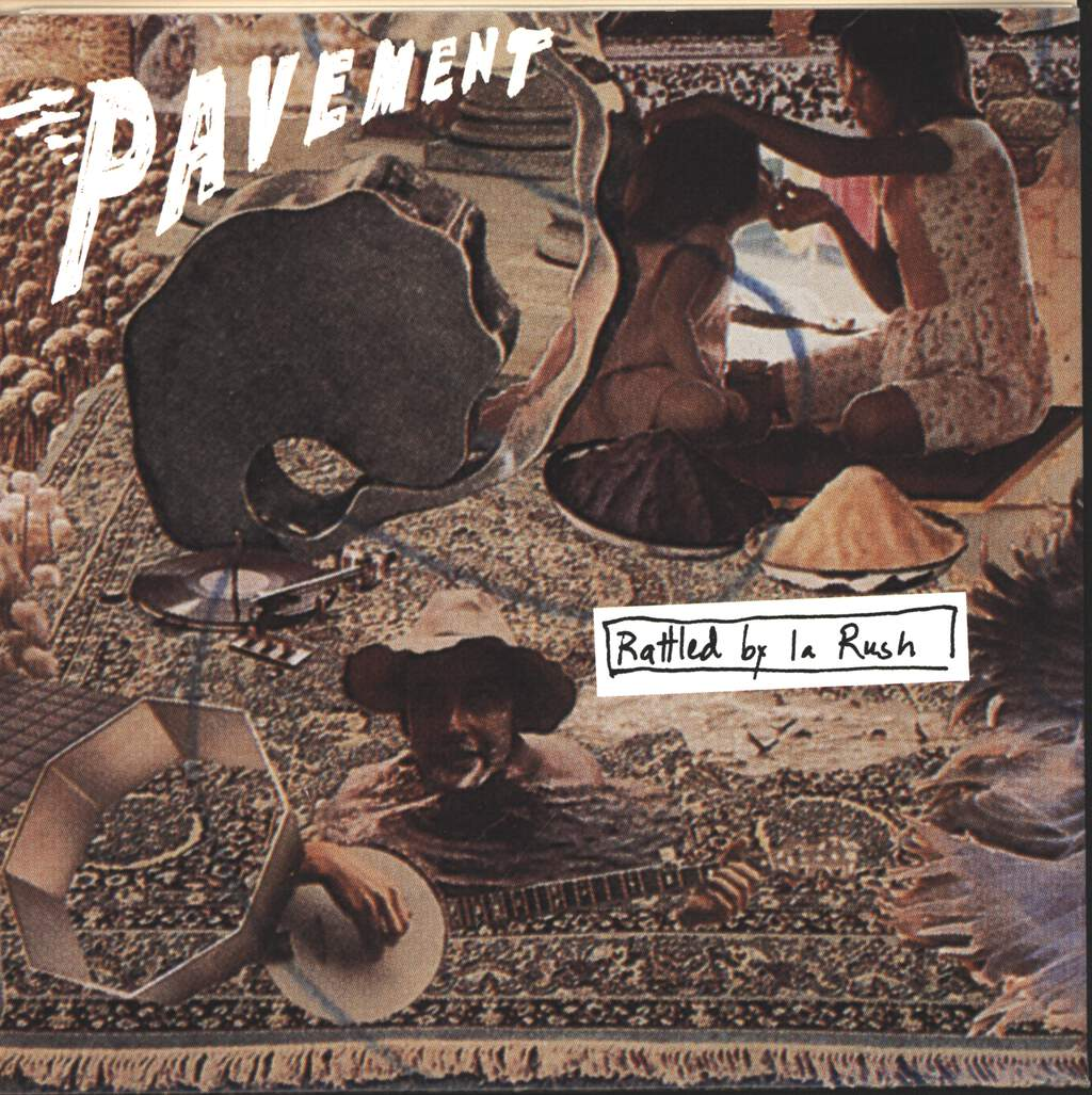 "Pavement: Rattled By La Rush, 7"" Single (Vinyl)"