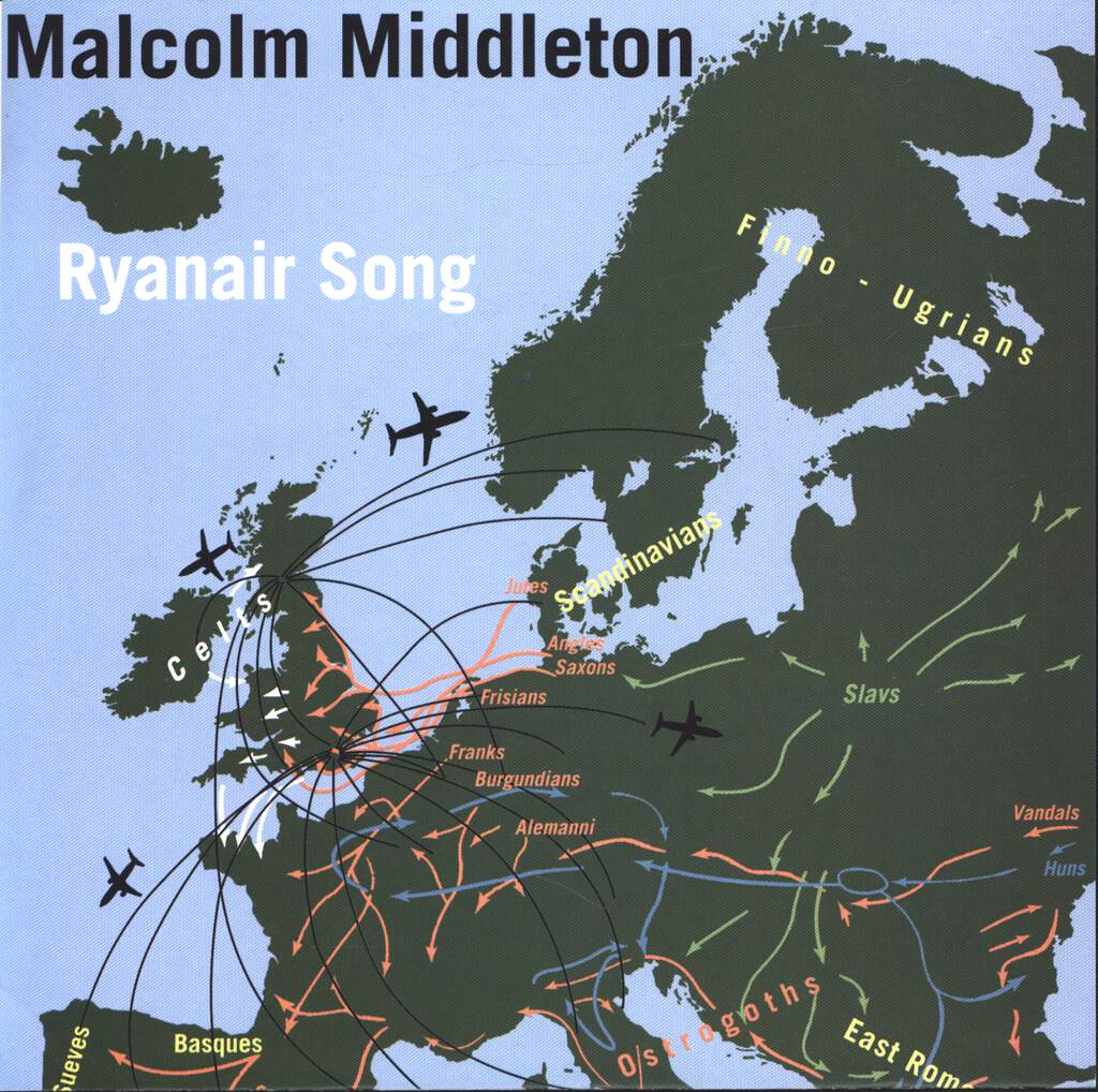"Malcolm Middleton: Ryanair Song, 7"" Single (Vinyl)"