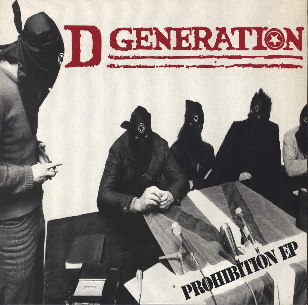 "D Generation: Prohibition EP, 7"" Single (Vinyl)"