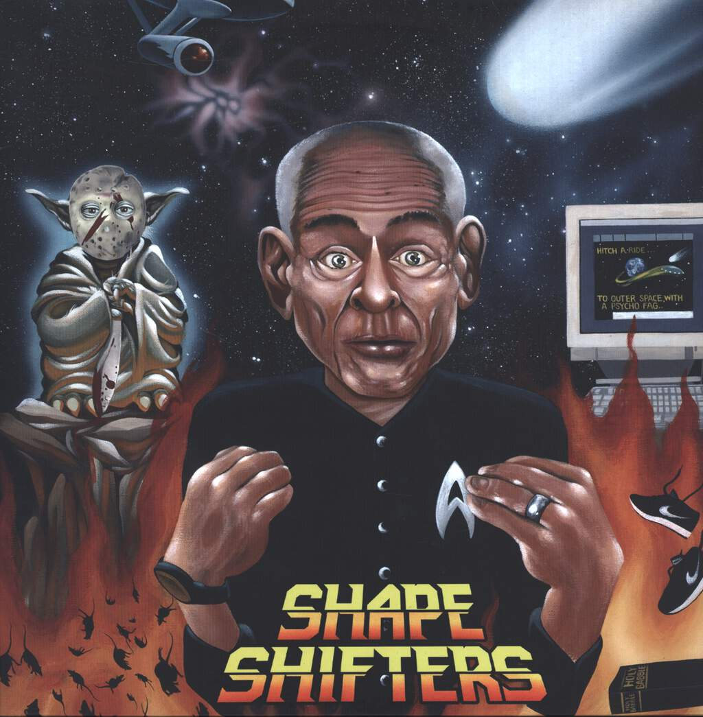 The Shape Shifters: Adopted By Aliens, LP (Vinyl)