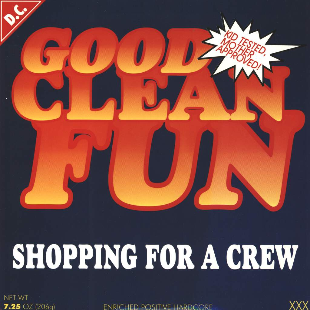 "Good Clean Fun: Shopping For A Crew, 7"" Single (Vinyl)"