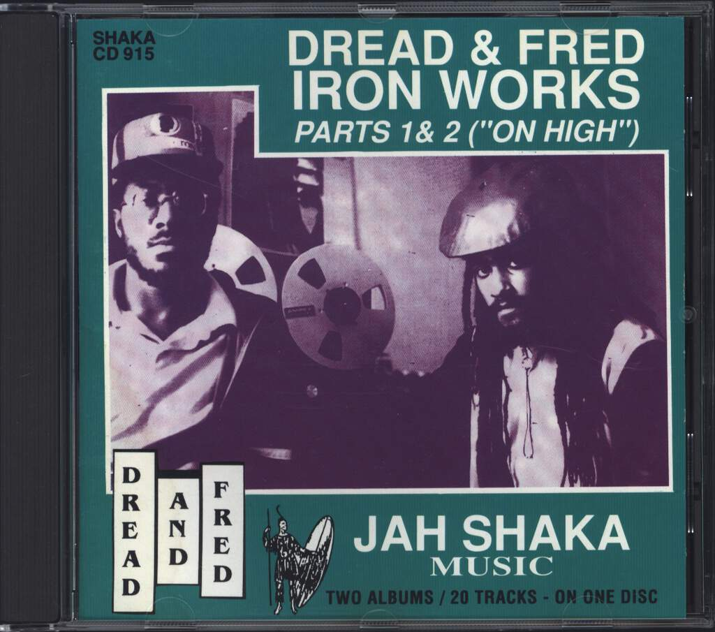 "Dread & Fred: Iron Works Parts 1 & 2 (""On High""), CD"