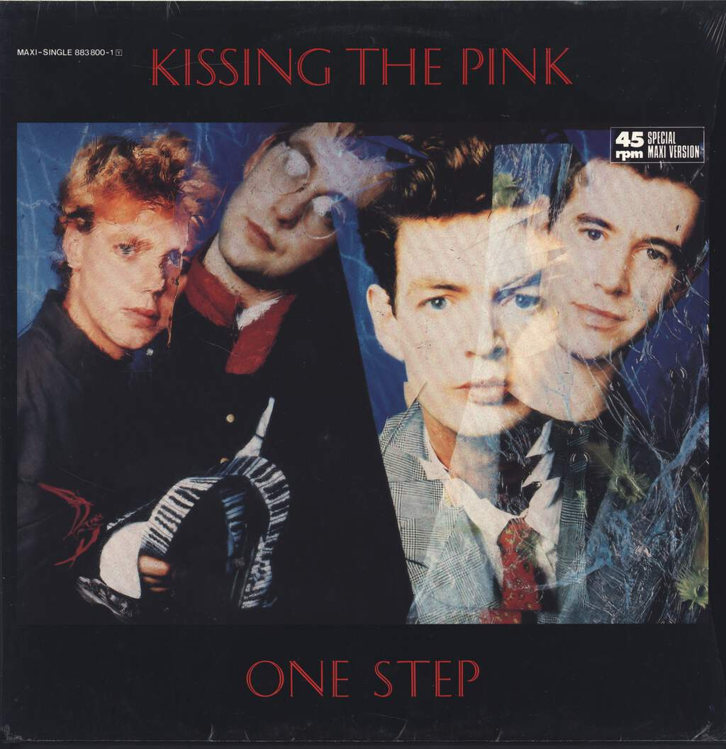 "Kissing the Pink: One Step, 12"" Maxi Single (Vinyl)"
