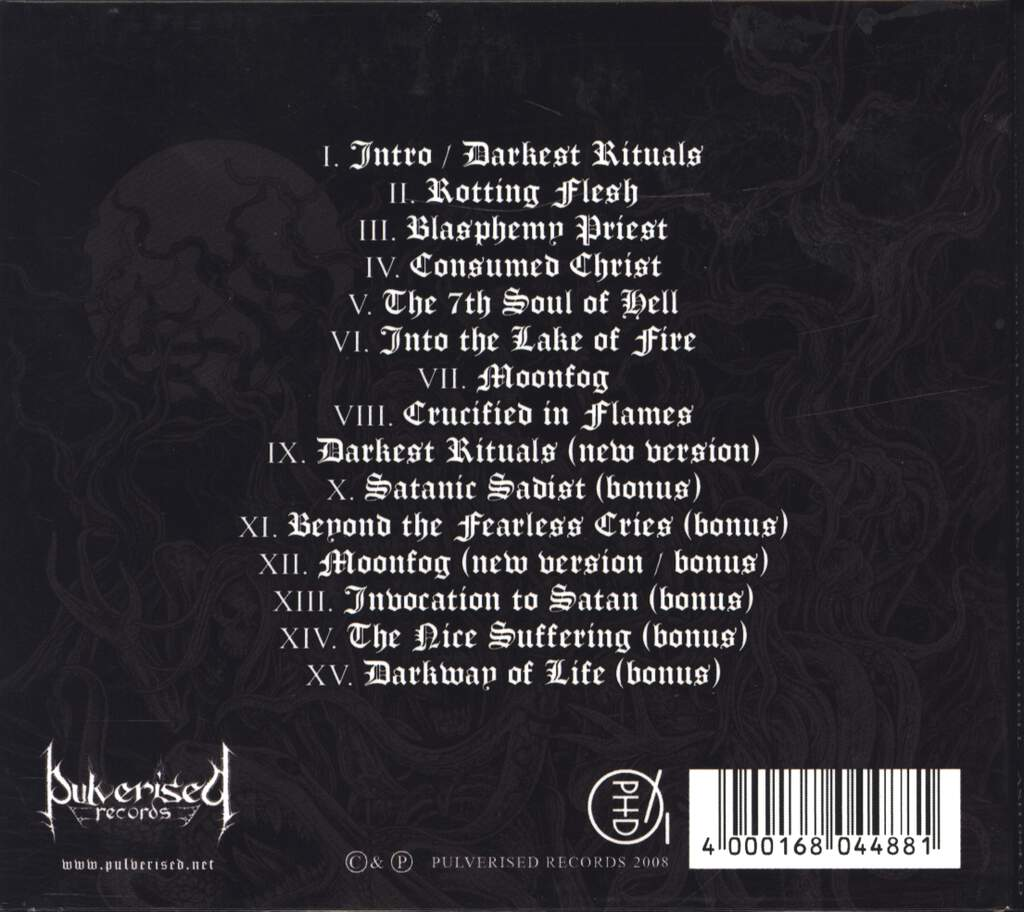 Autopsy Torment: 7th Ritual For The Darkest Soul Of Hell, CD