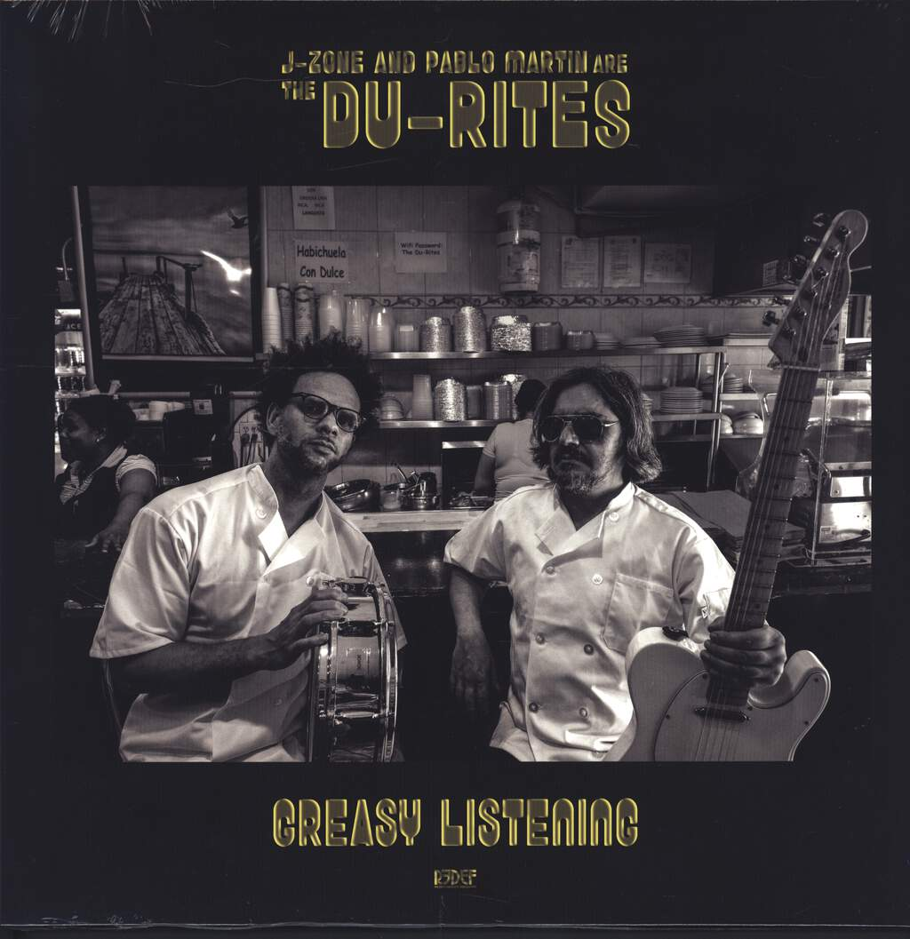The Du-Rites: Greasy Listening, LP (Vinyl)