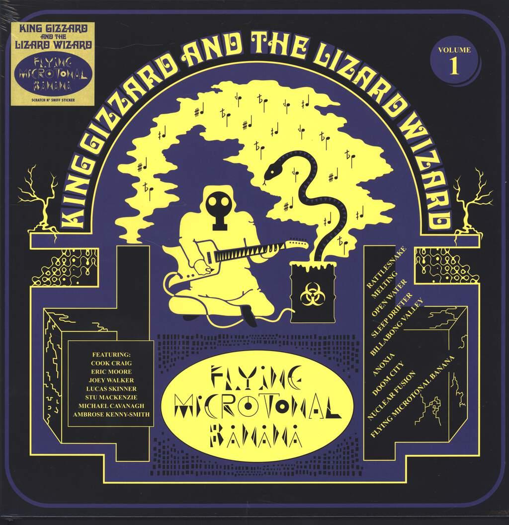 King Gizzard And The Lizard Wizard: Flying Microtonal Banana, LP (Vinyl)