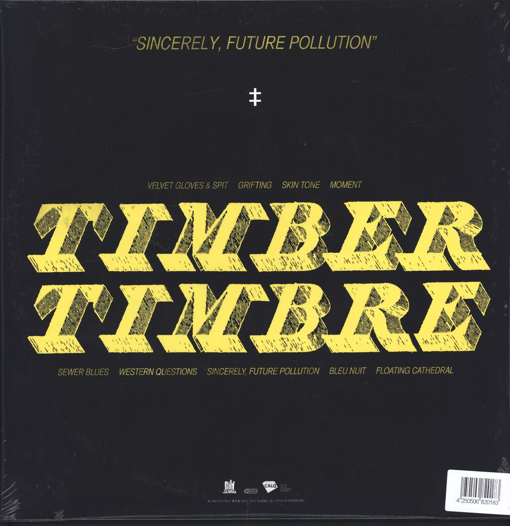 Timber Timbre: Sincerely, Future Pollution, LP (Vinyl)