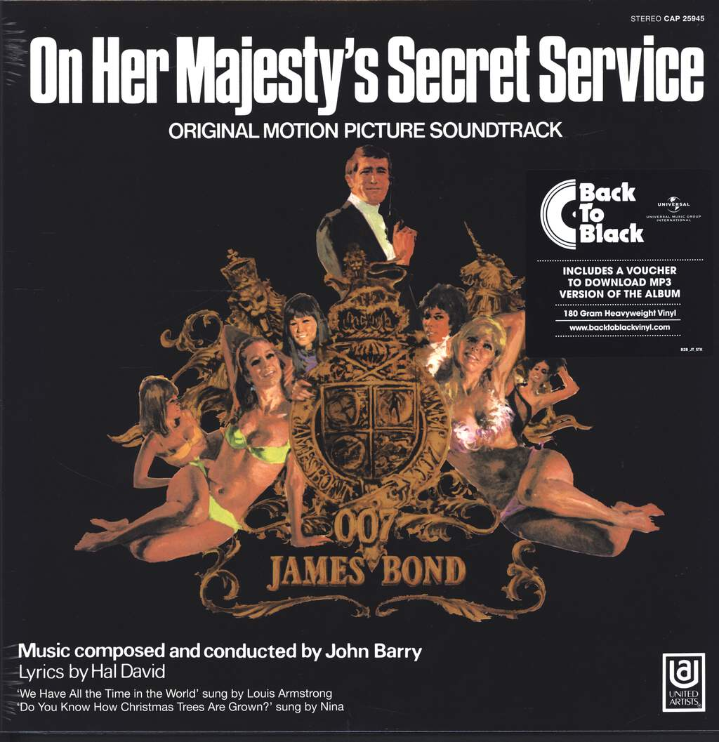 John Barry: On Her Majesty's Secret Service (Original Motion Picture Soundtrack), LP (Vinyl)