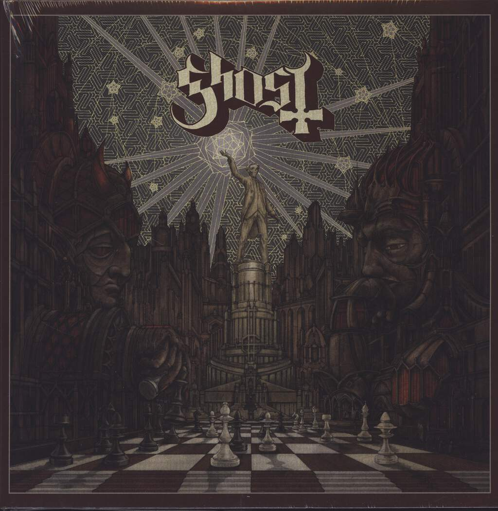 "Ghost: Popestar, 12"" Maxi Single (Vinyl)"