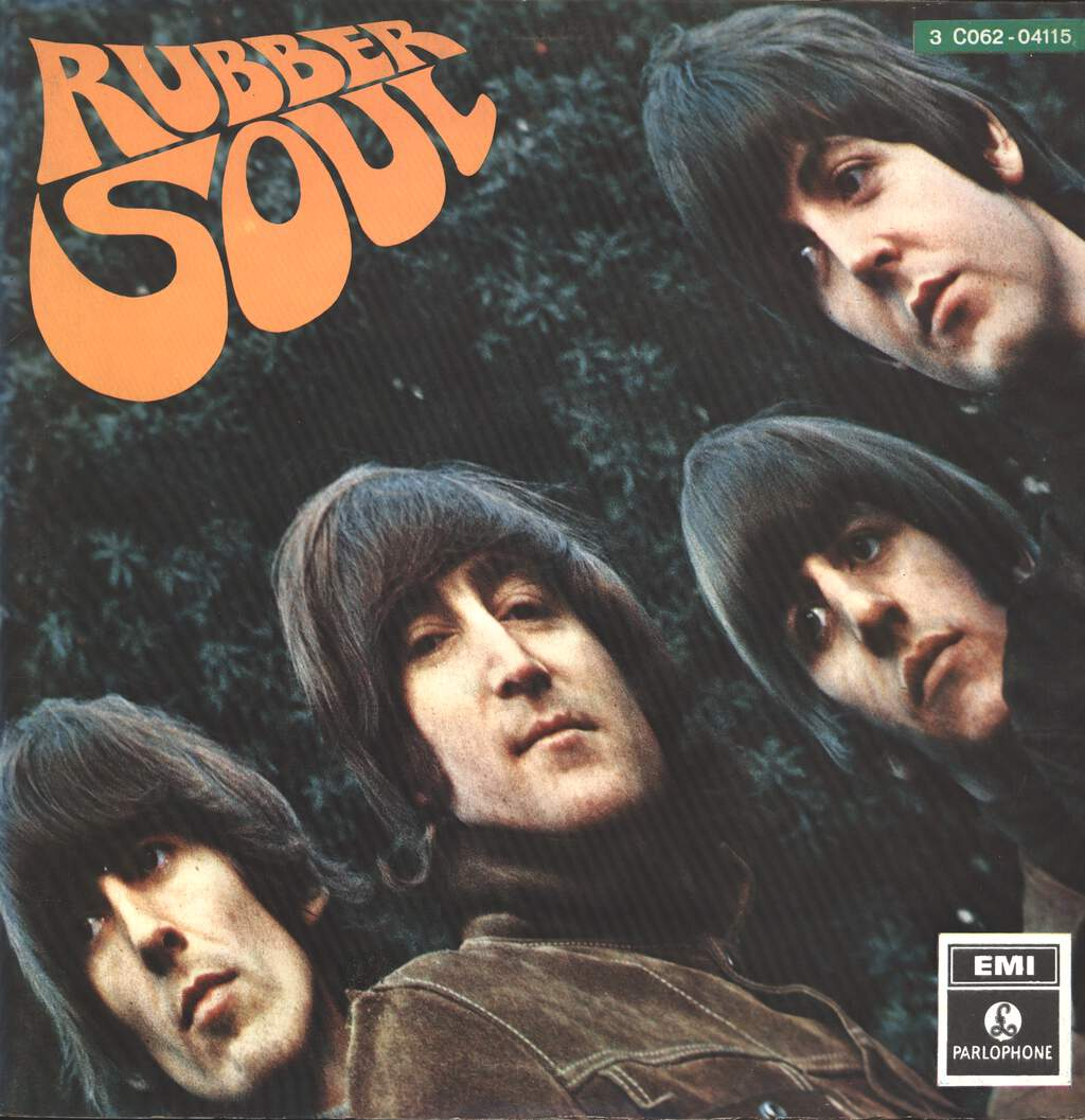 The Beatles: Rubber Soul, LP (Vinyl)