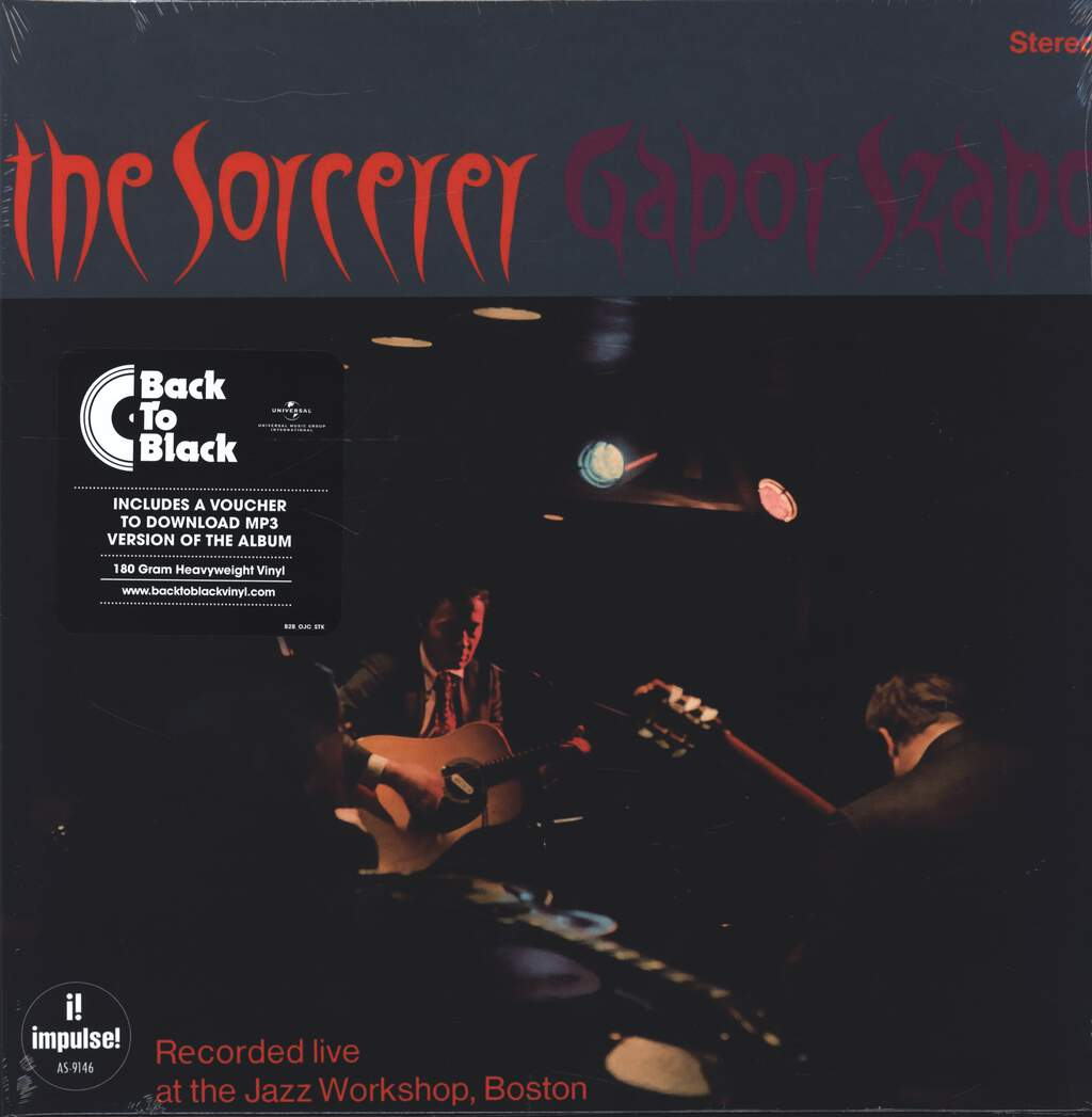 Gabor Szabo: The Sorcerer, LP (Vinyl)