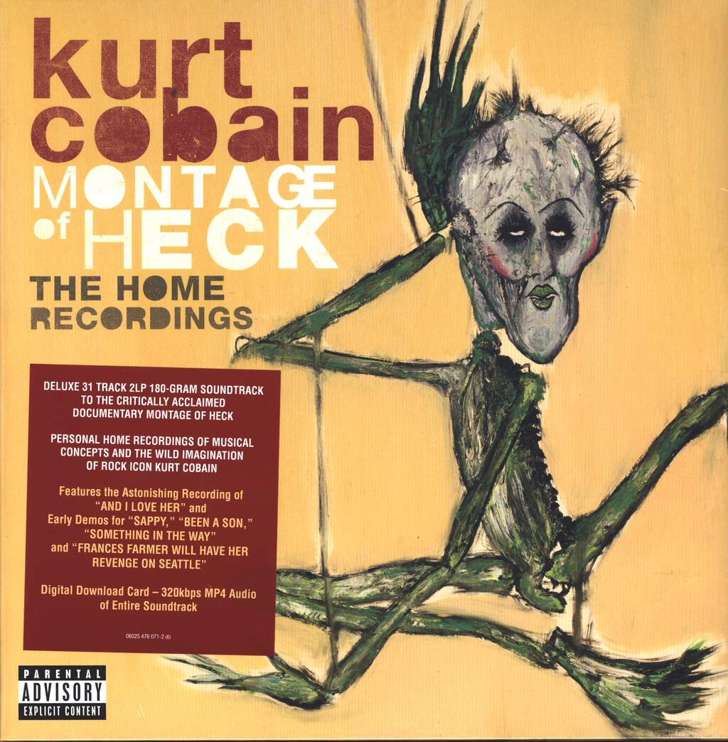 Kurt Cobain: Montage Of Heck: The Home Recordings, 2×LP (Vinyl)