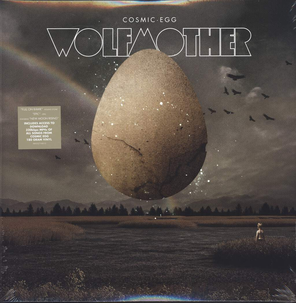 Wolfmother: Cosmic Egg, LP (Vinyl)