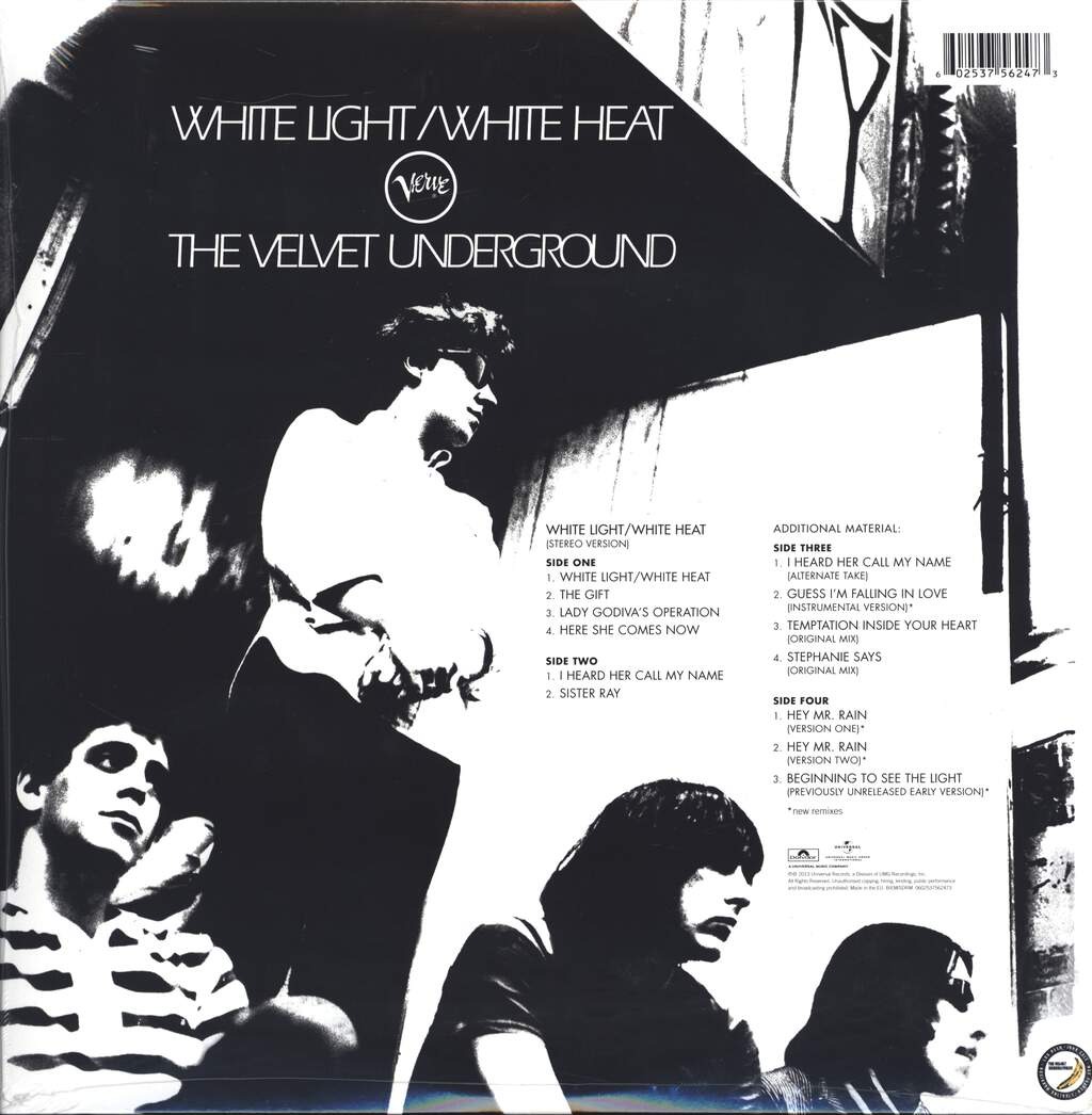 The Velvet Underground: White Light/White Heat, LP (Vinyl)