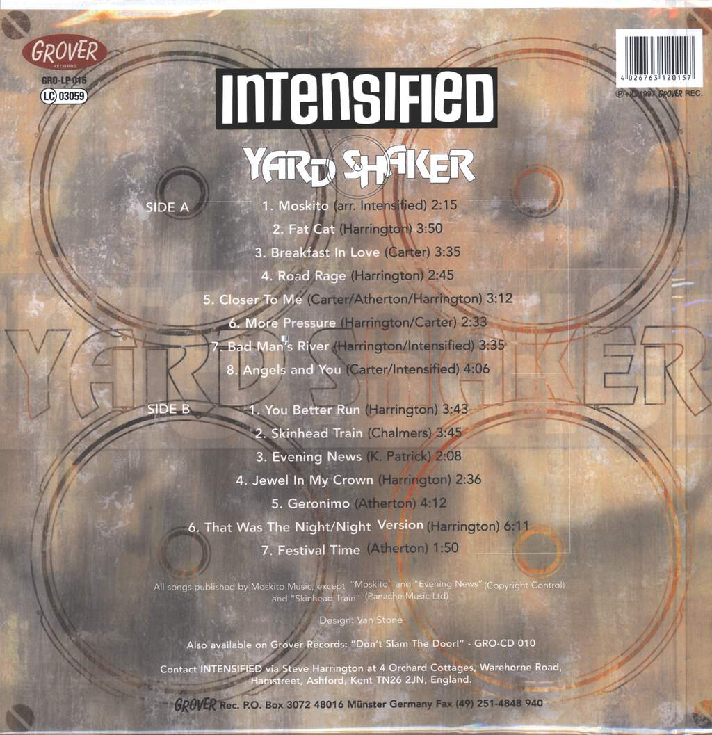 Intensified: Yard Shaker, LP (Vinyl)
