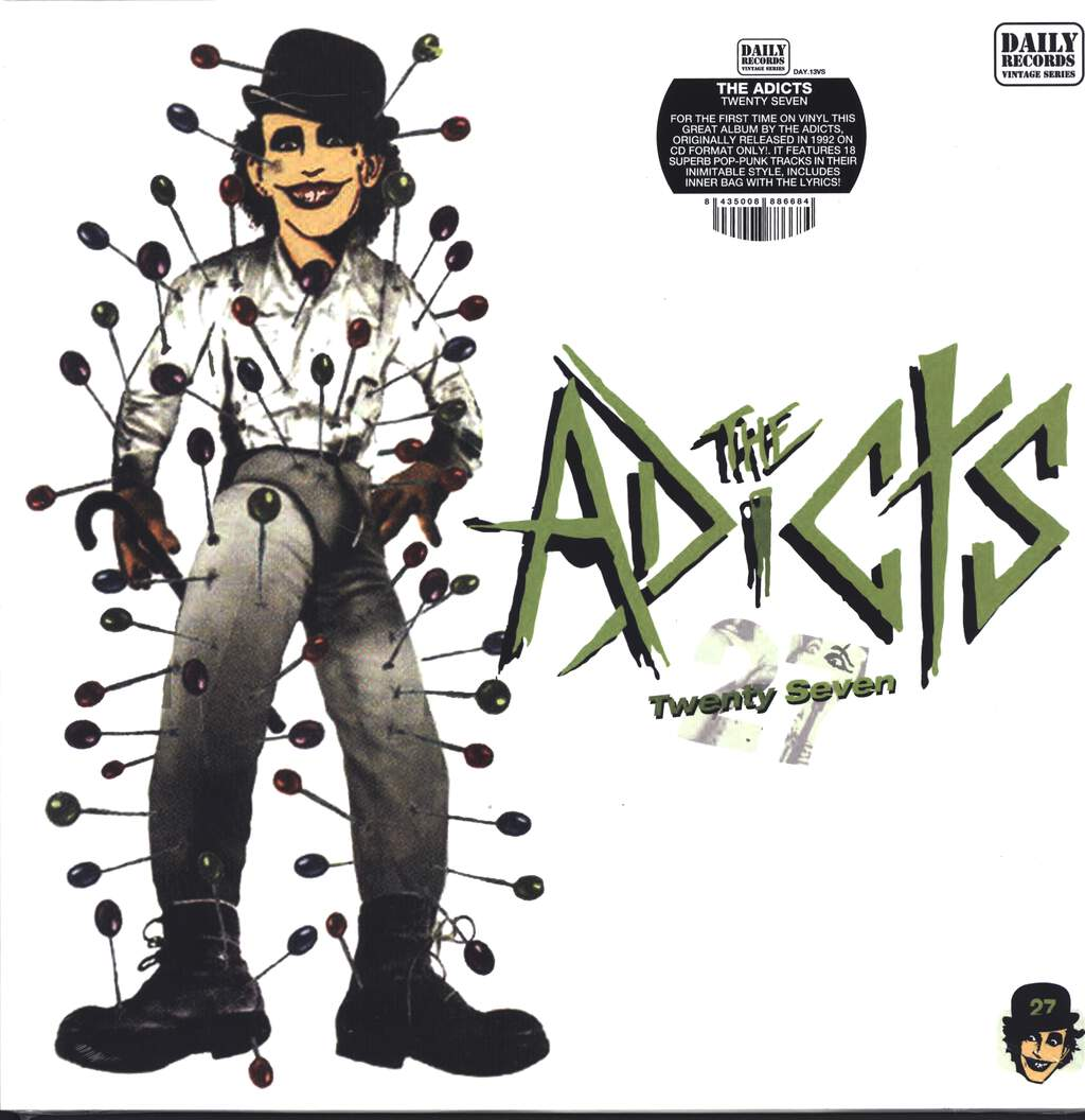 The Adicts: Twenty Seven, LP (Vinyl)