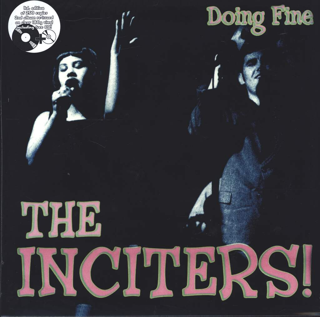 The Inciters: Doing Fine, LP (Vinyl)